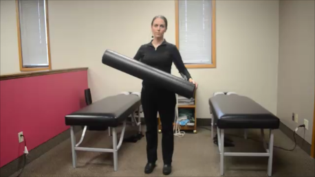FOAM ROLLER EXERCISES- AT HOME LOW BACK PAIN RELIEF